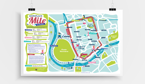 Cheshire West And Chester Walking Maps - Lemondrop Creative